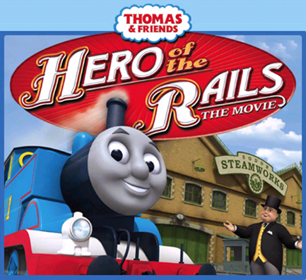 Thomas the Tank engine Hero of the Rails