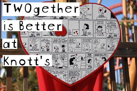 Knott's Berry Farm–TWOgether is Better