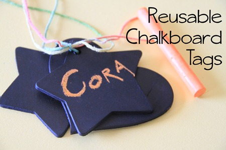 reuasable chalkboard tags