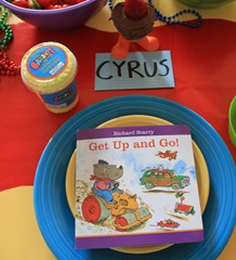 back to school feast table settings