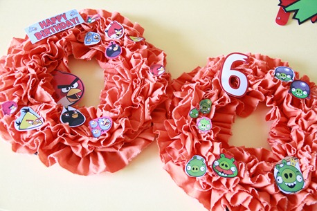 Angry Bird Birthday Party decor