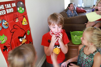 Angry Bird Birthday Party games