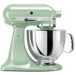kitchenaid mixer in pistachio