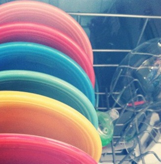 rainbow dishes