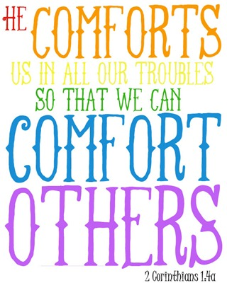 comfort others