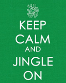 keep calm and jingle on