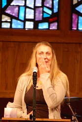 speaking at my mom's memorial