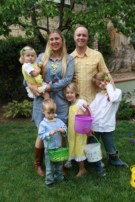 Easter 2013 matching family