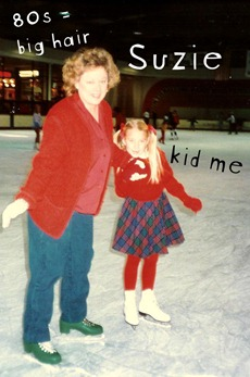 mom and i ice skating