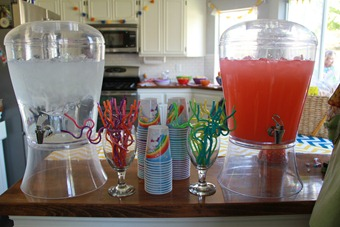 Drink dispencers from Sam's Club
