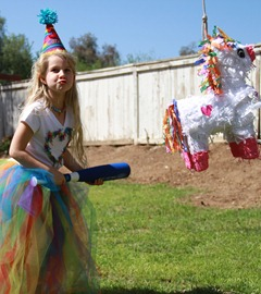 rainbow unicorn pinata