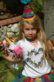 decapitated rainbow unicorn pinata
